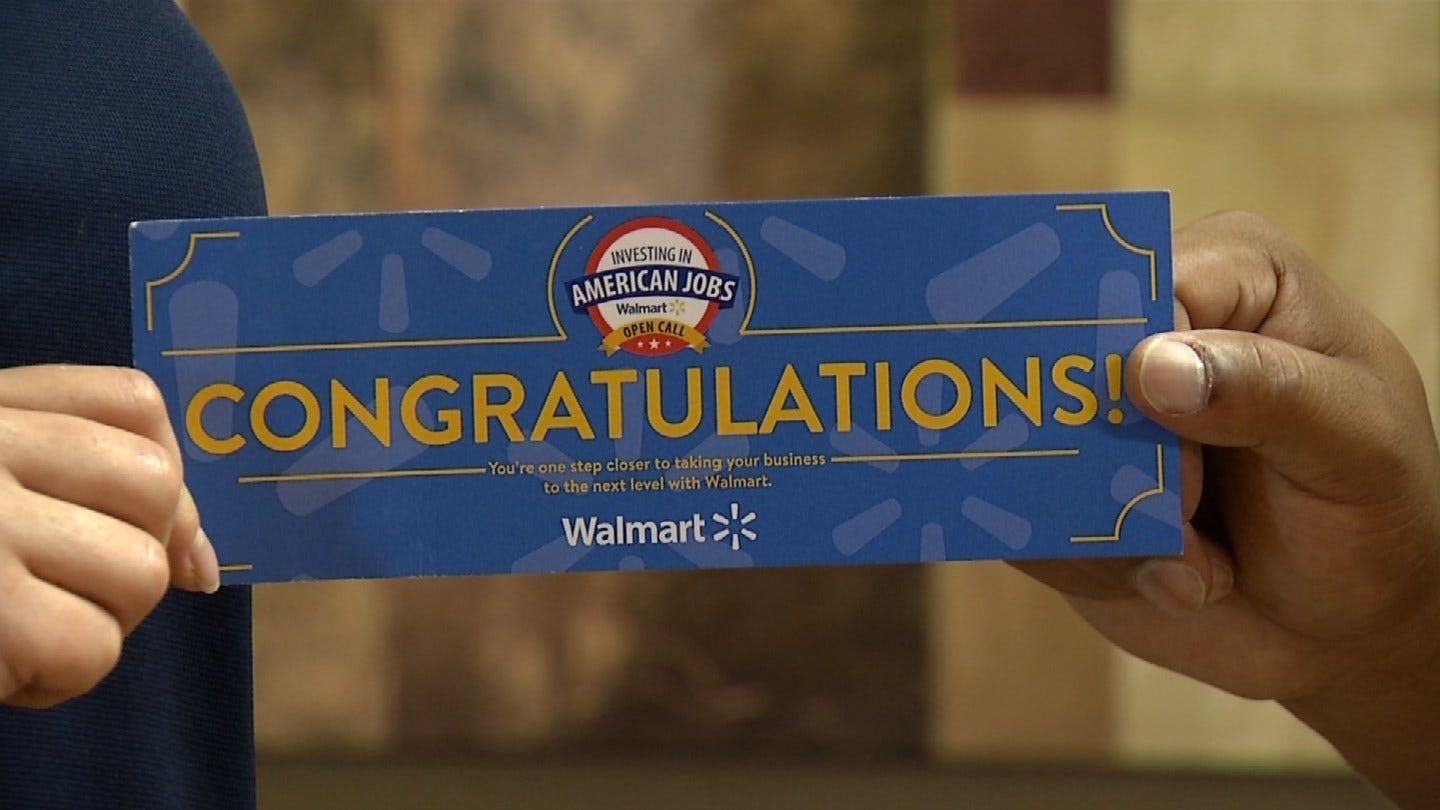 Green Country Business Takes Part In Walmart 'Open Call'