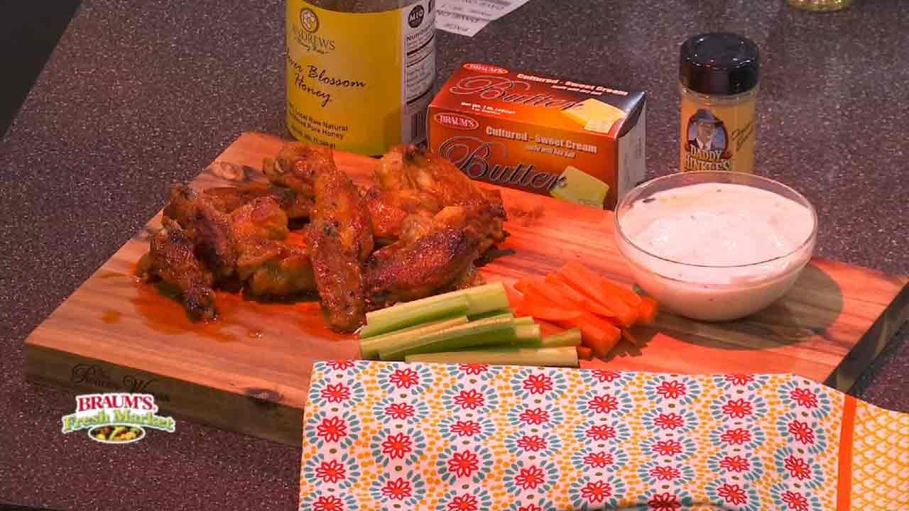 Oven Baked Swamp Wings