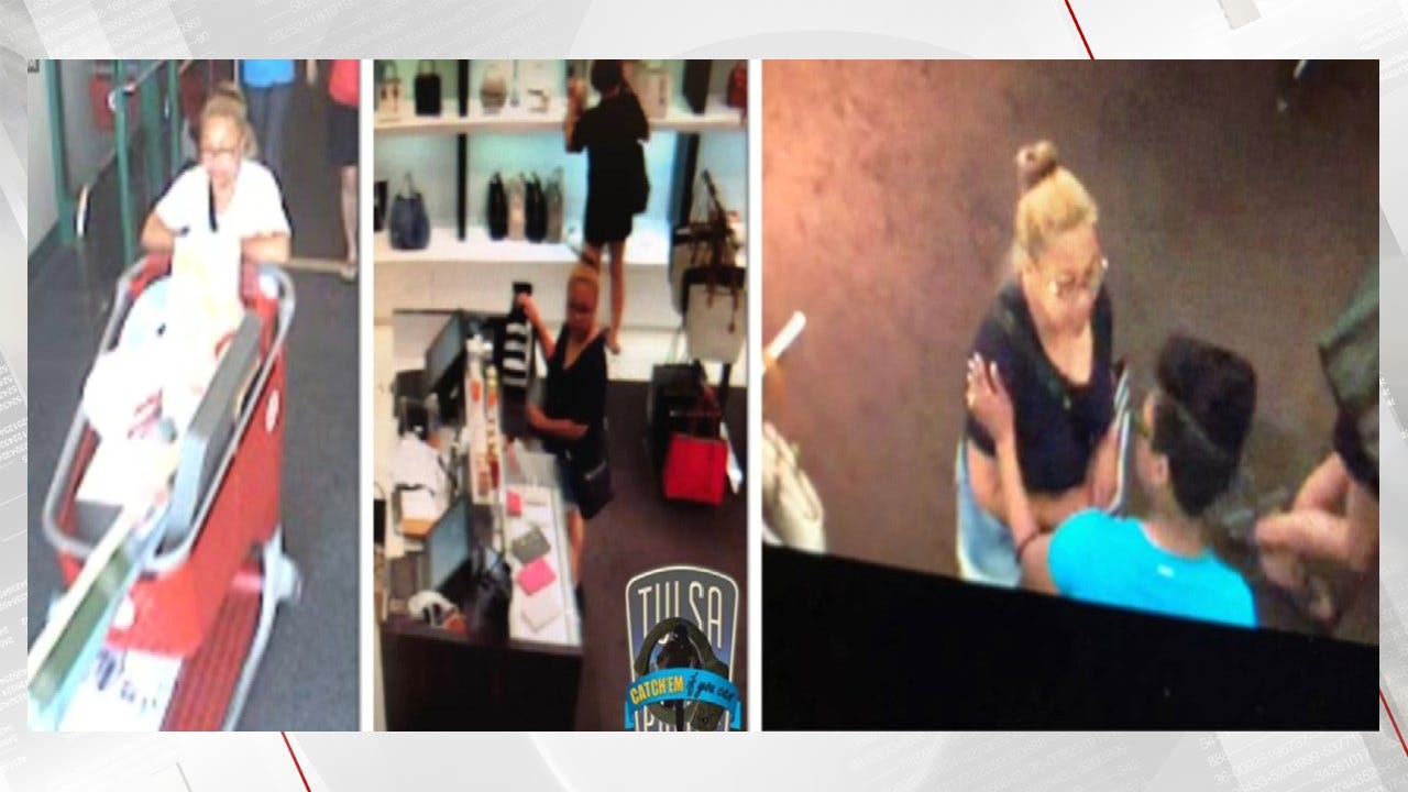 Police Trying To ID Woman Accused Of Credit Card Theft, Charging Around $65,000