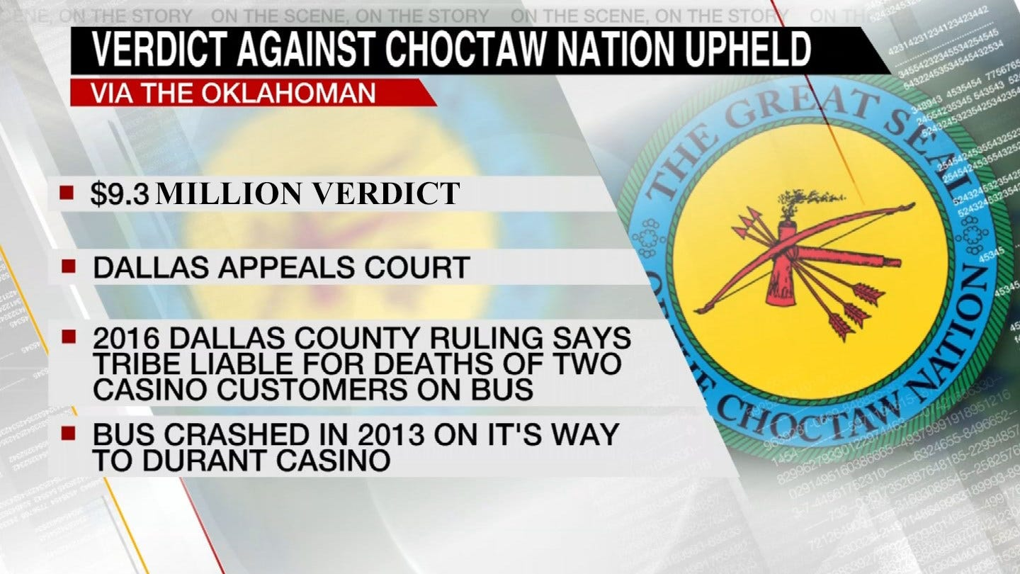 Appeals Court Upholds Ruling Against Choctaw Nation