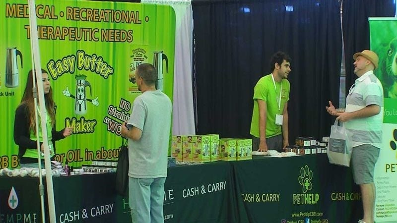 Cannabis Expo Organizers Hope To Change Perception