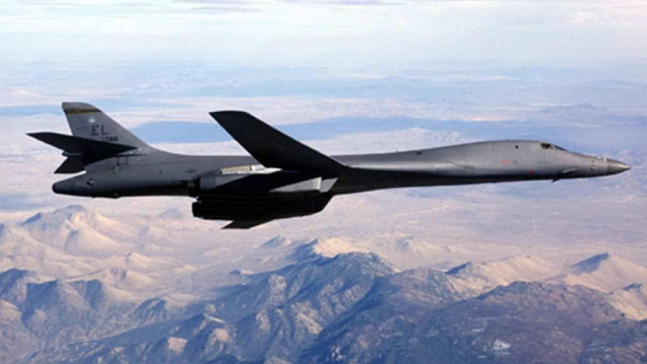 B-1B Bombers Resume Flight Operations In Oklahoma