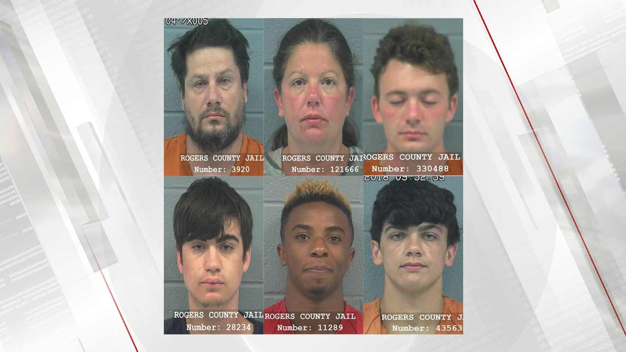 Multiple Arrests Made At 'Party House' In Rogers County
