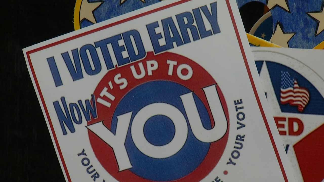 First Day Of Early Voting Sees Strong Turnout In Northeast Oklahoma