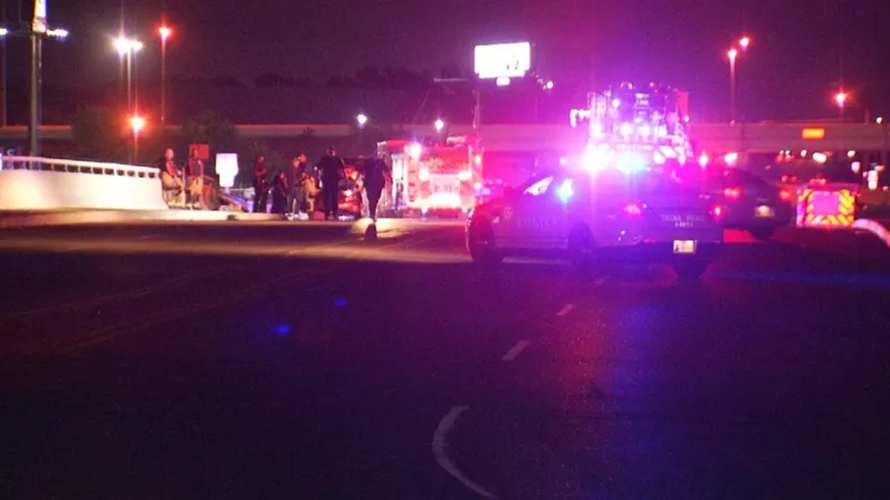 Search For Fatal Hit-And-Run Tulsa Driver Continues; Victim Identified