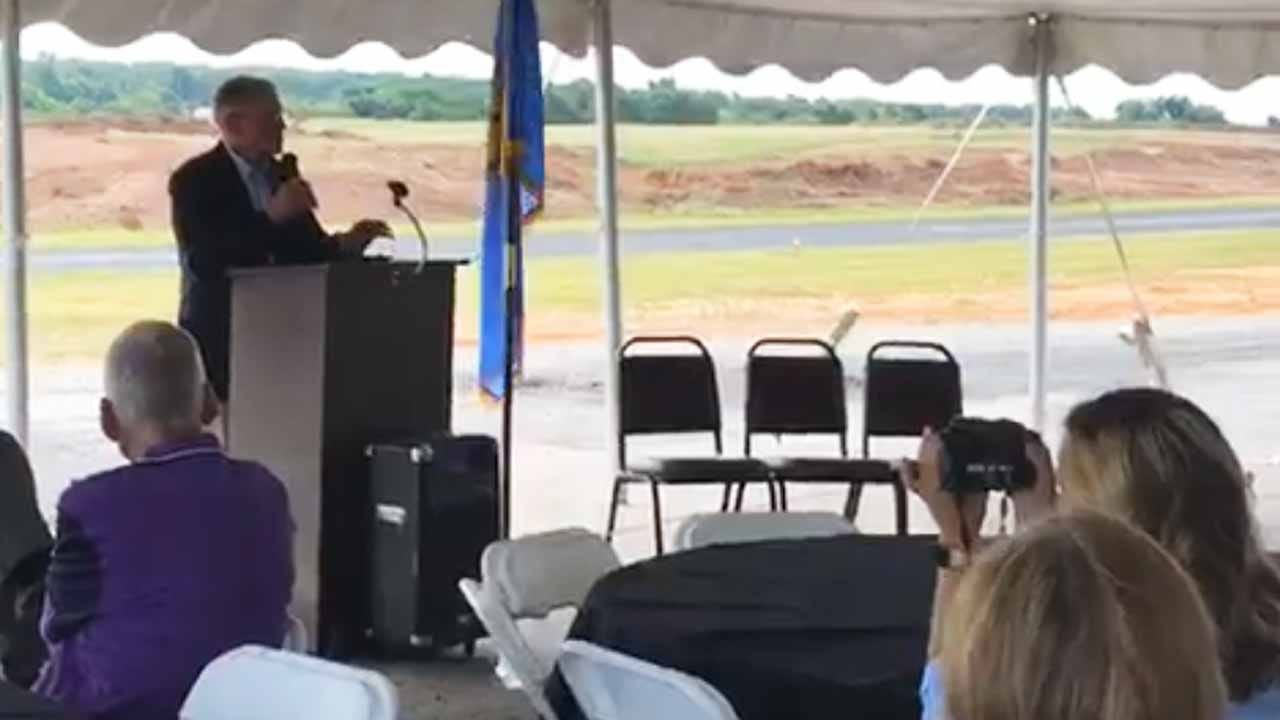 Groundbreaking Held For $3.5 Million Bristow Airport Expansion