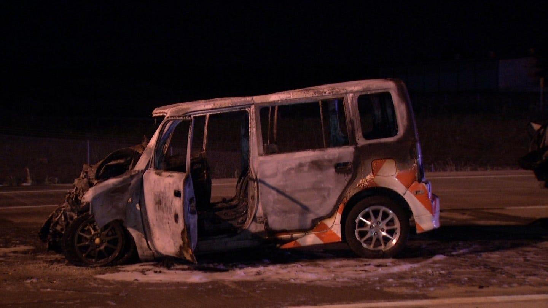 1 Dead, 1 Injured After Fiery Crash On I-44