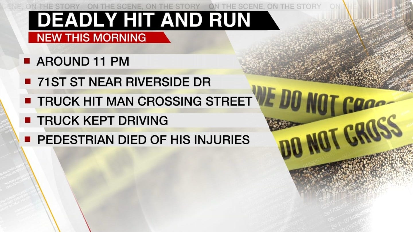 Man Killed In Hit-And-Run Near 71st And Riverside