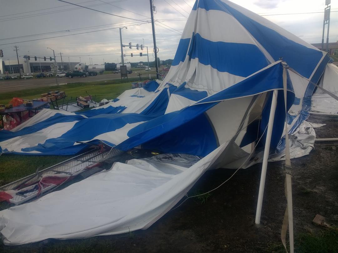OSU Okmulgee Campus Take Heavy Damage After Storms