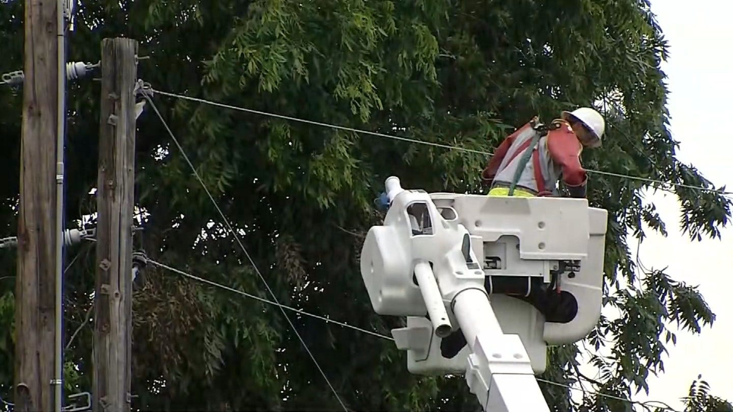 Sunday Storms Leave Behind Power Outages In Okmulgee