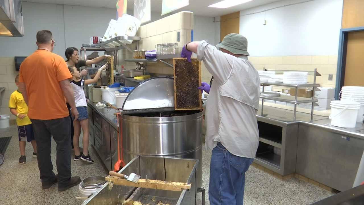 Harvesting Honey Teaching Tulsa's Homeless Life Skills, Job Training