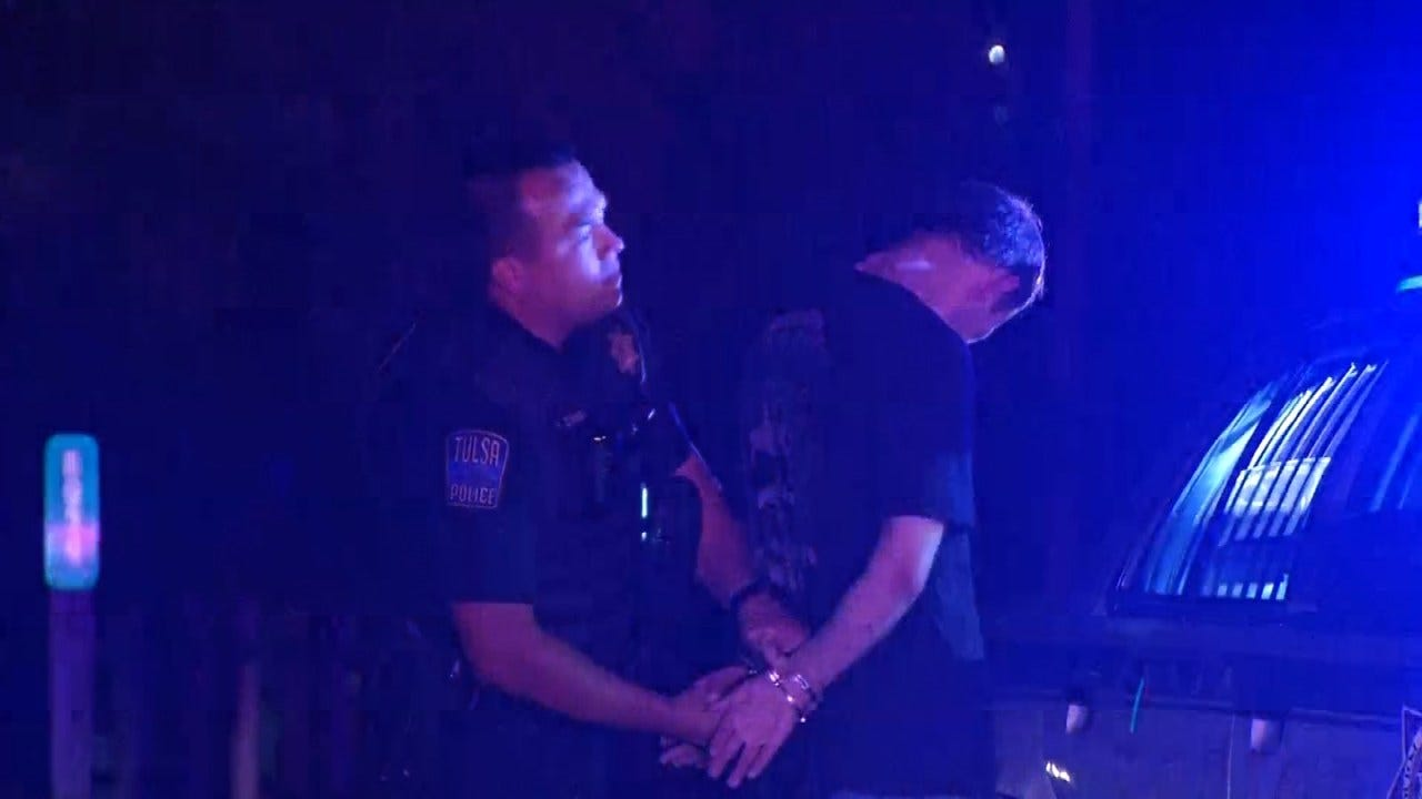 Police Arrest Man After Chase From Tulsa To Sperry