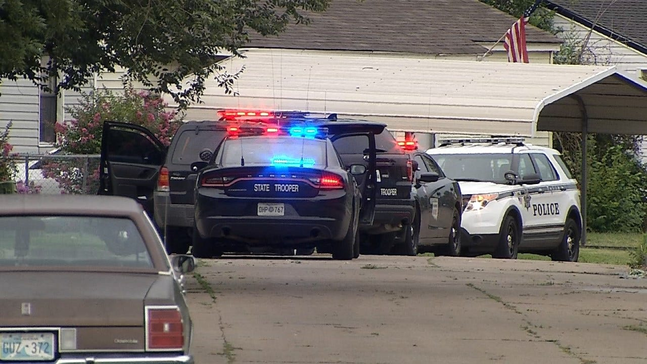 Police Pursuit Through Tulsa Ends, Suspect Still On The Loose