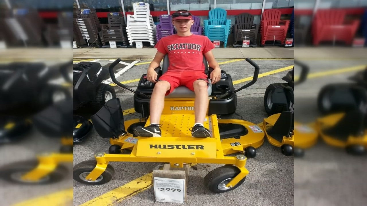 Skiatook Teen's Lawnmower Stolen After Two Years Of Saving