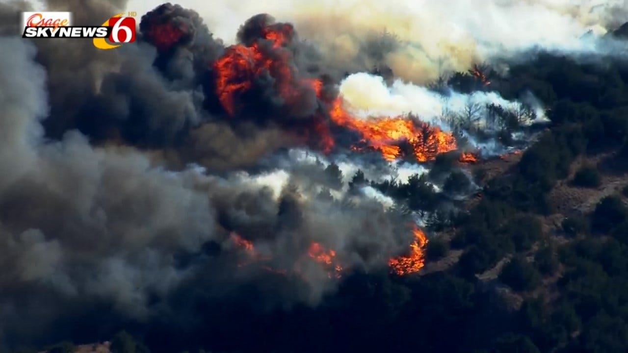 Disaster Assistance Approved Following Western Oklahoma Wildfires