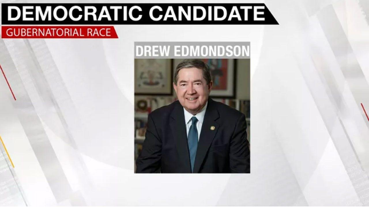 Drew Edmondson Wins Race To Represent Democrats In Governor's Race