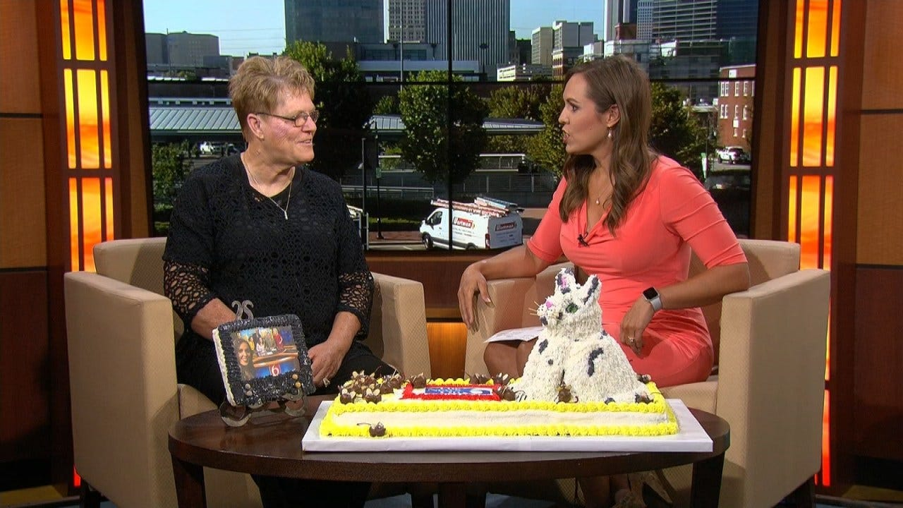 Oklahoma Cake Artist Visits Six In The Morning