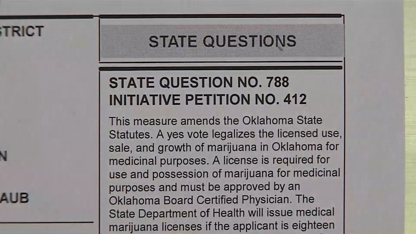 Oklahomans For Cannabis Hosting Watch Party At Tulsa Theater