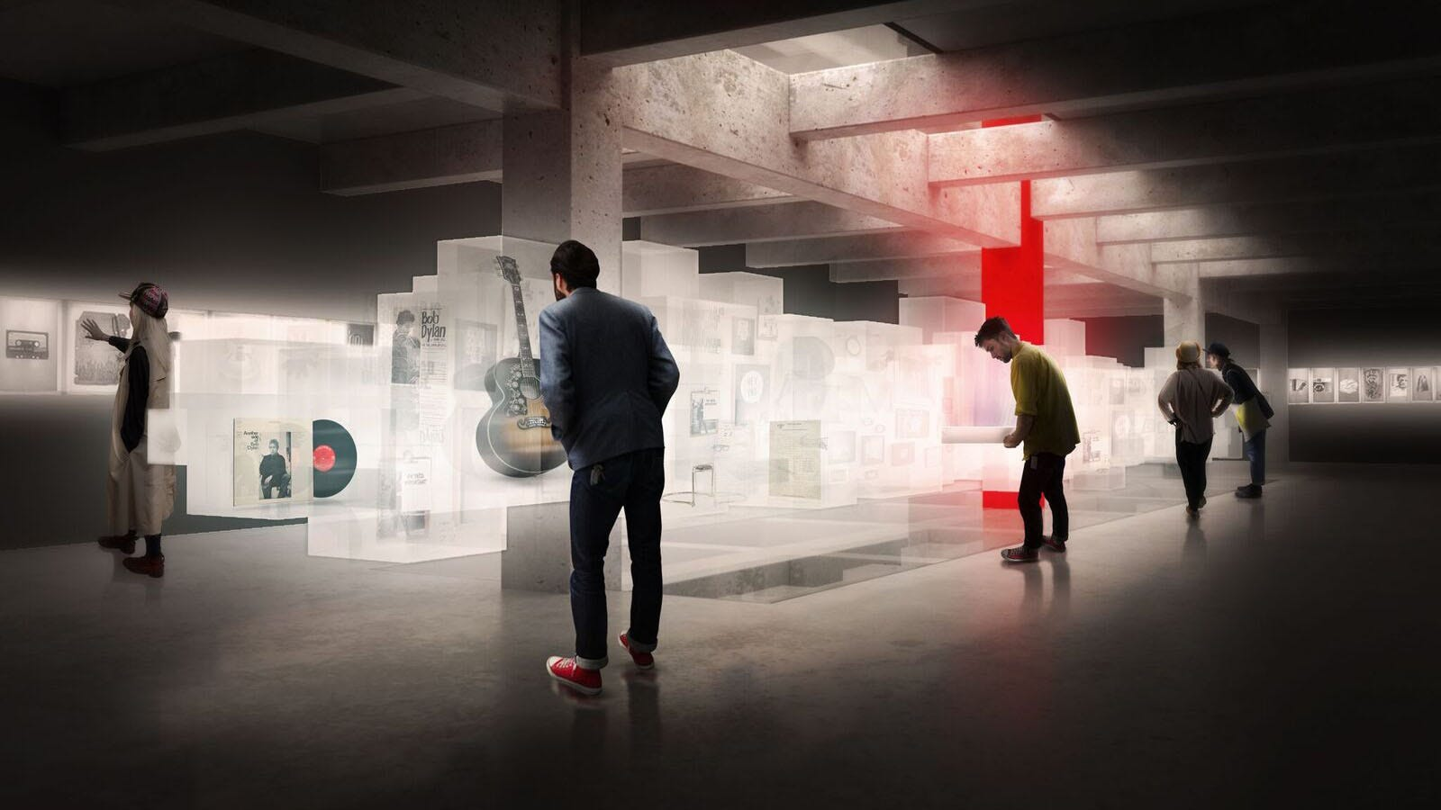 Design Firm, Location Finalized For Tulsa's Bob Dylan Center