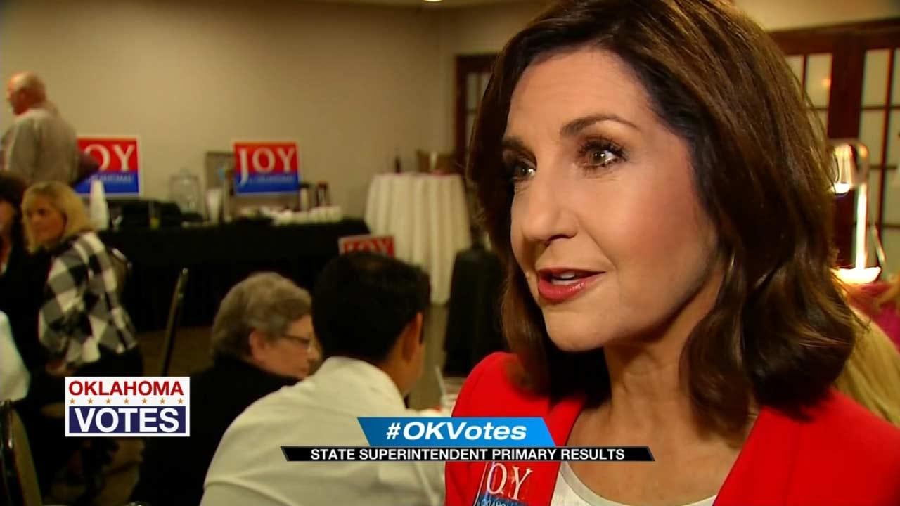 Joy Hofmeister, Linda Murphy In Runoff For Oklahoma State Superintendent