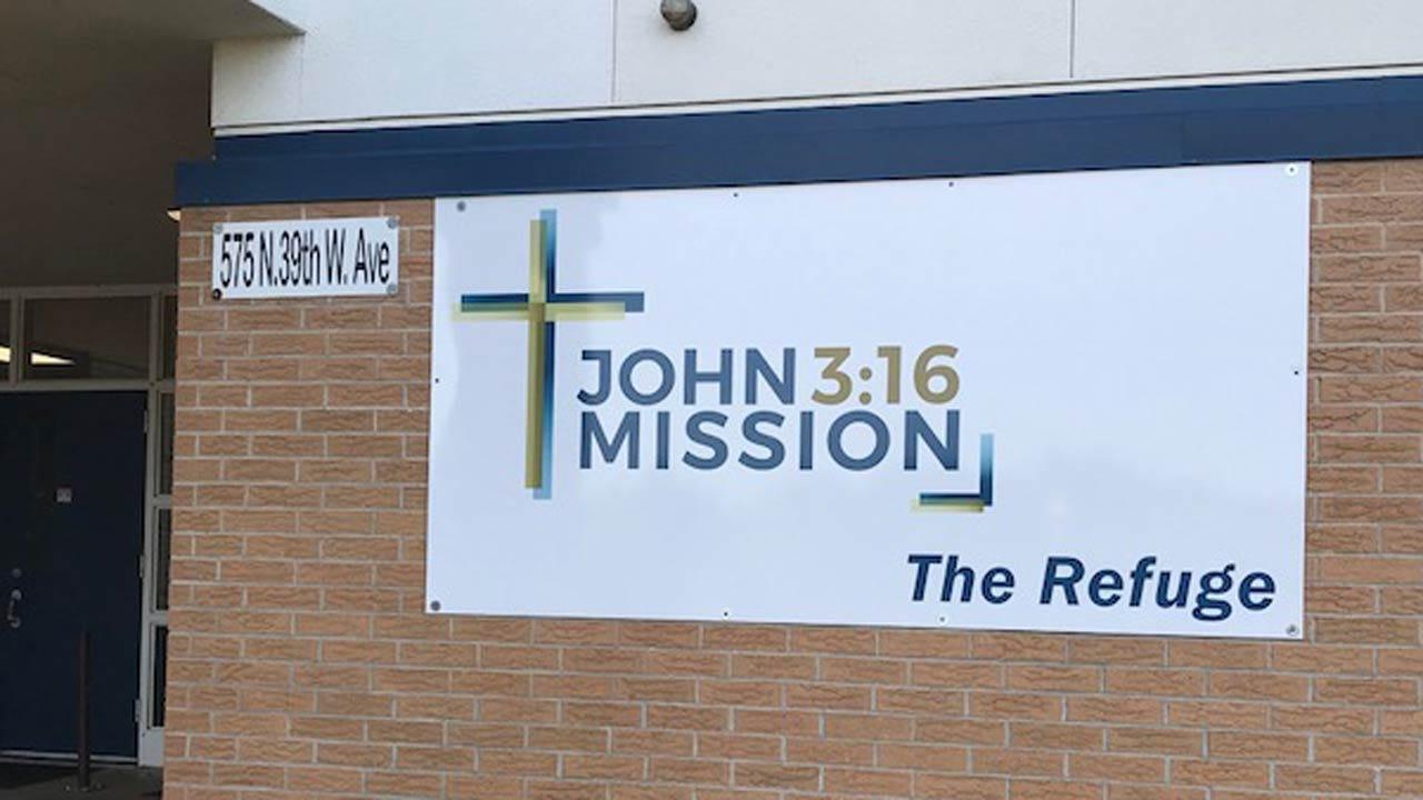 New Program Set To Open At Tulsa's John 3:16 Mission