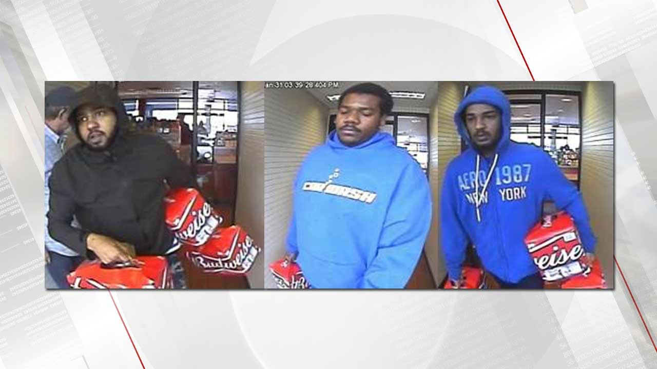 TPD: 3 Accused Of Stealing More Than $1,000 In Beer From Tulsa Stores