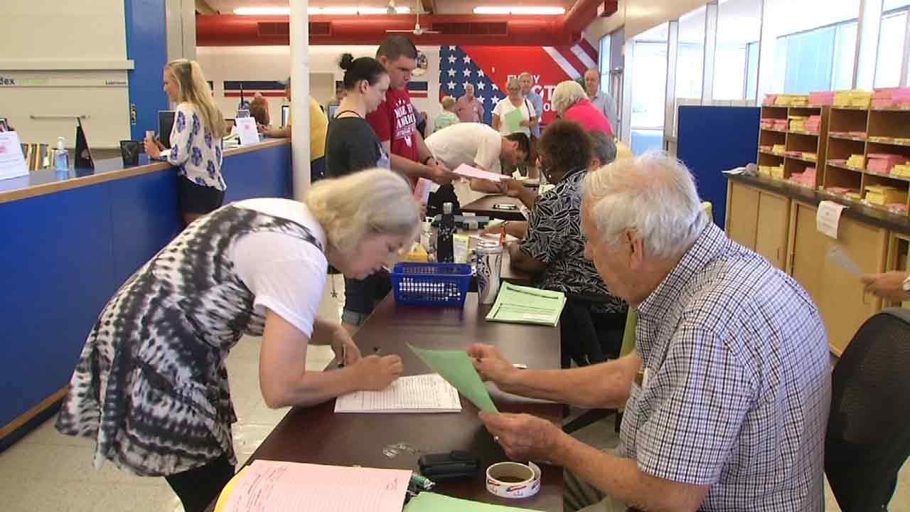 Voter Turnout For Tuesday's Primary Surpasses 2014 General Election Turnout