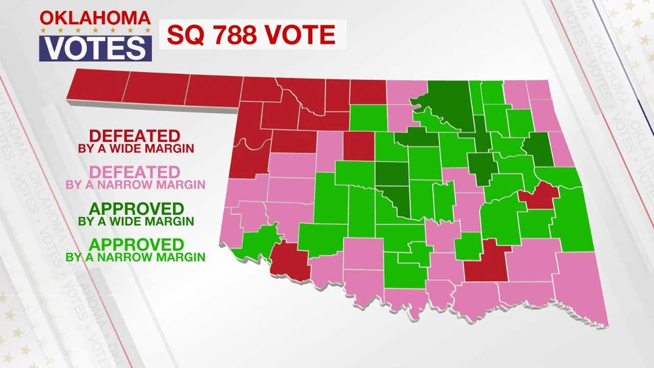 Did Your County Vote For Medical Marijuana?