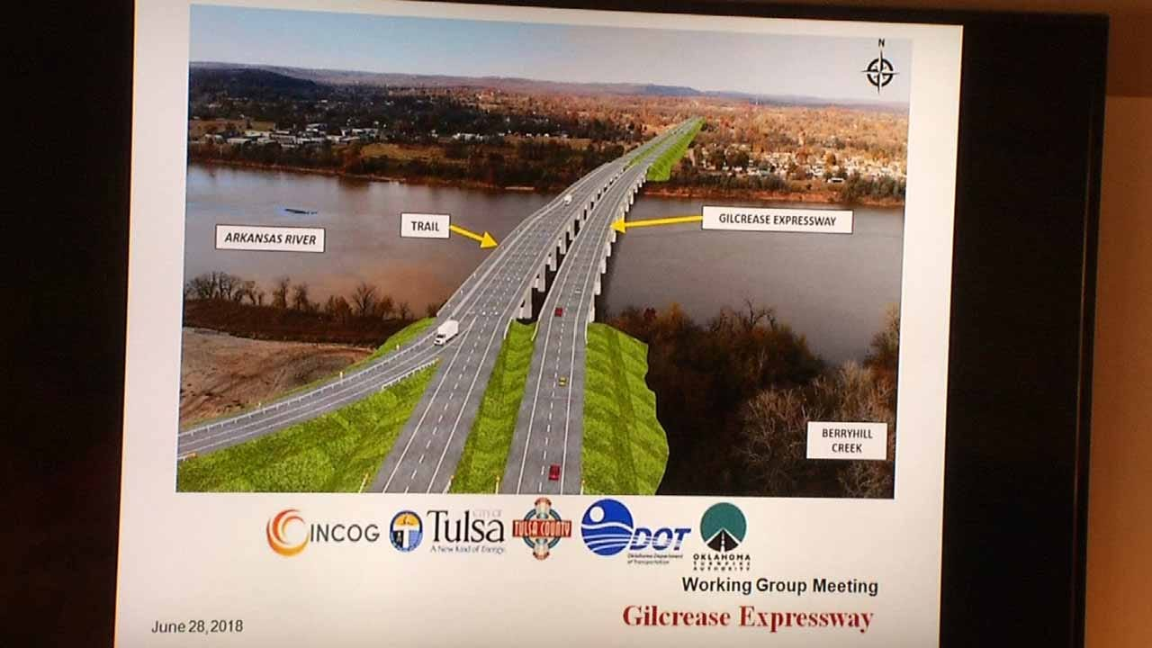 Plans Continue To Develop For Gilcrease Expressway Construction