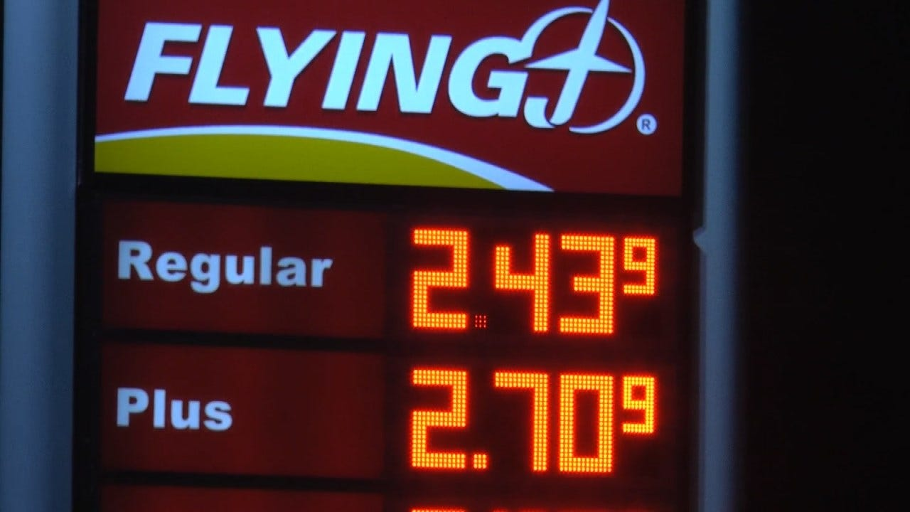 Tulsa Area Gas Prices Jump