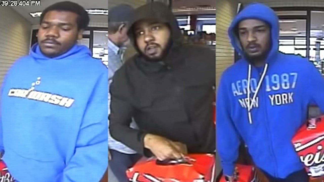 Tulsa Police Continue Search For Group Of Beer Bandits