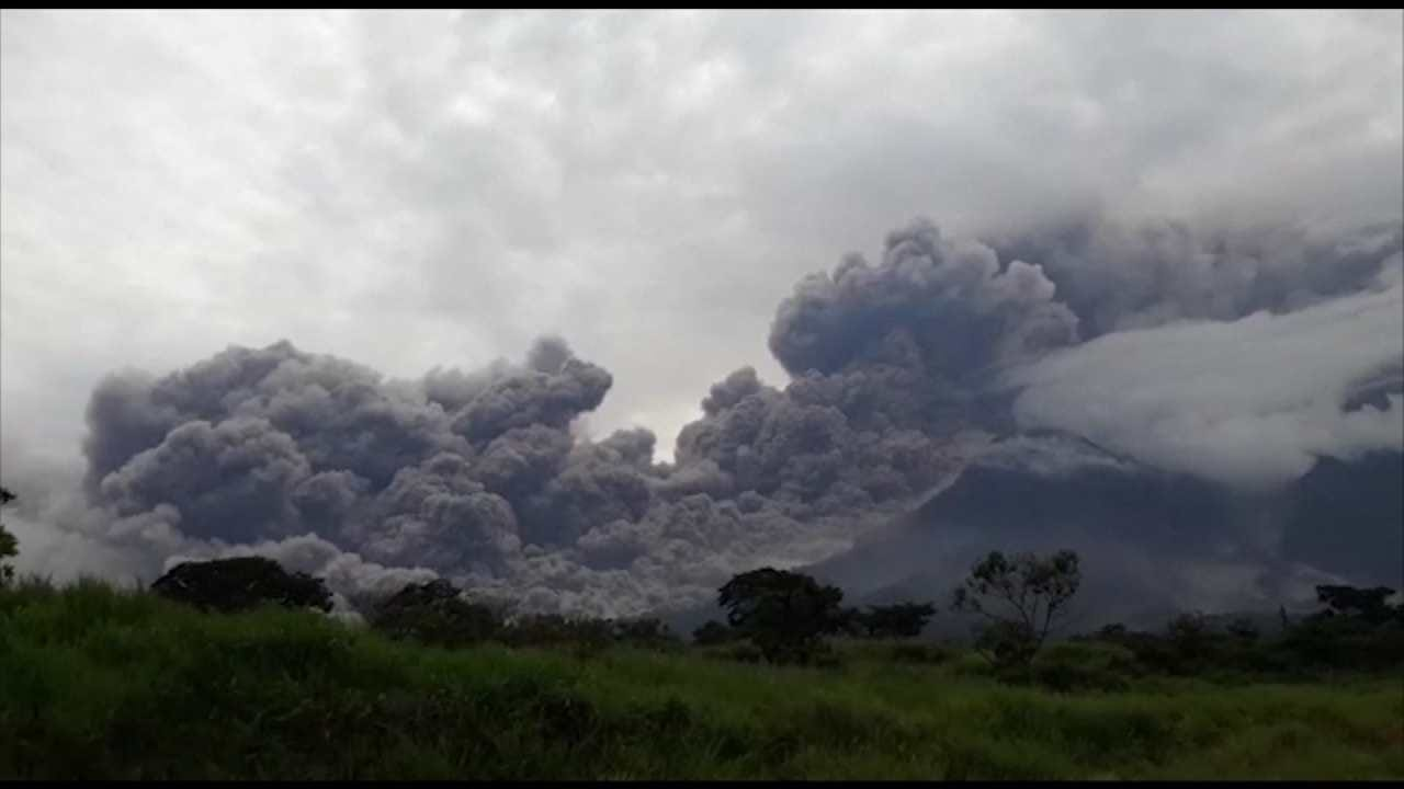 Death Toll Climbs From Guatemala Volcano Eruption
