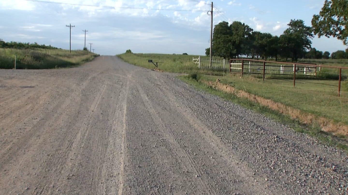 Suspect Sought Following Chase, Crash In Creek County