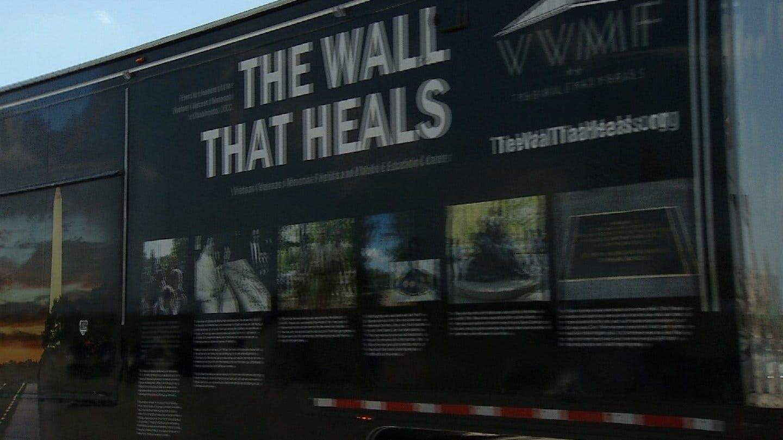 Vietnam Veteran Memorial Replica Travels To Claremore