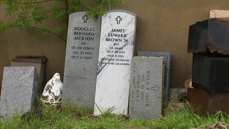Grave Sites Left In Disrepair At Historic Tulsa Cemetery