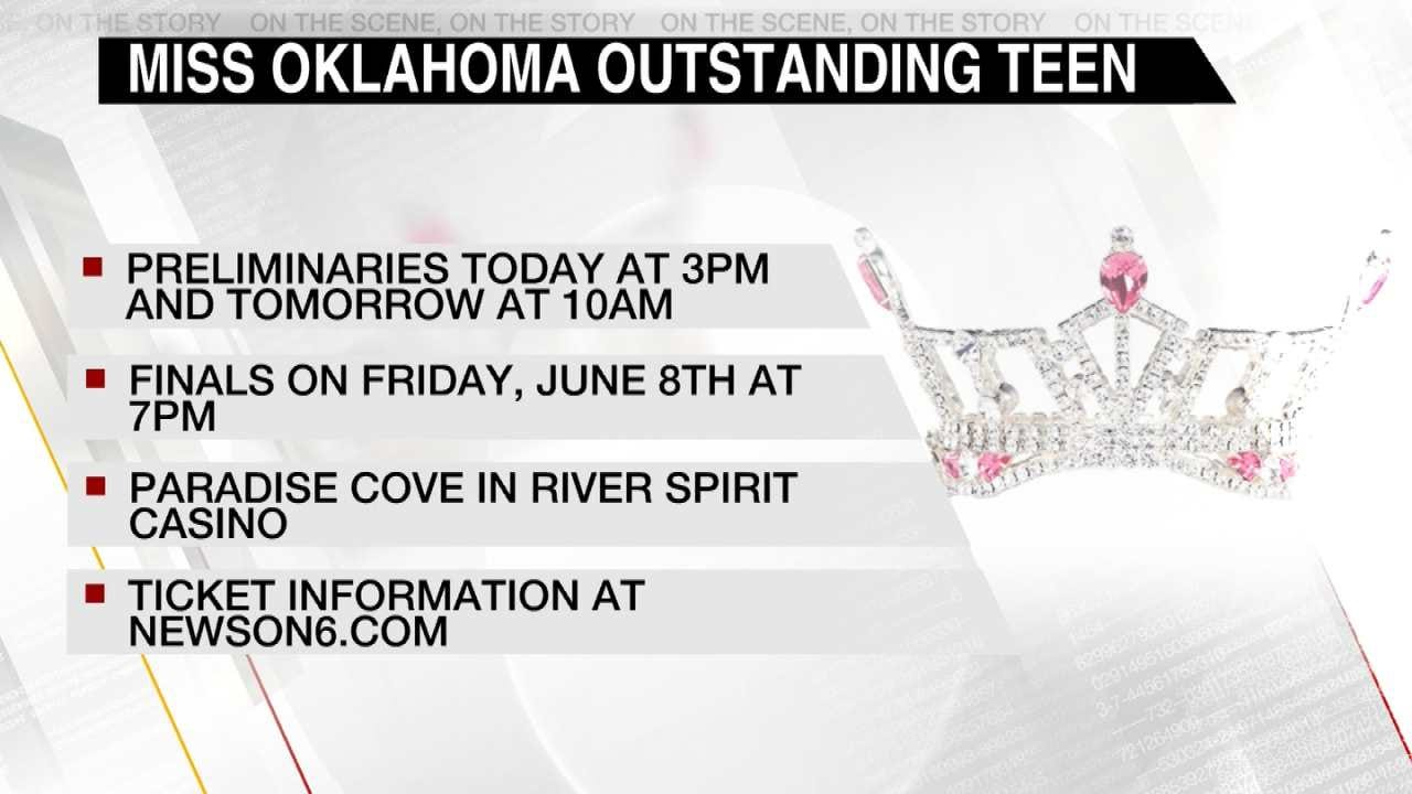 Miss Oklahoma Outstanding Teen Competition Also Underway In Tulsa