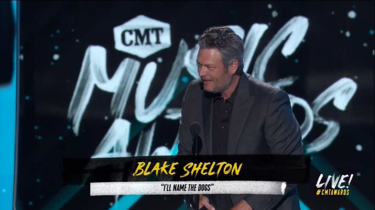 Shelton, Underwood Are Winners At CMT Music Awards