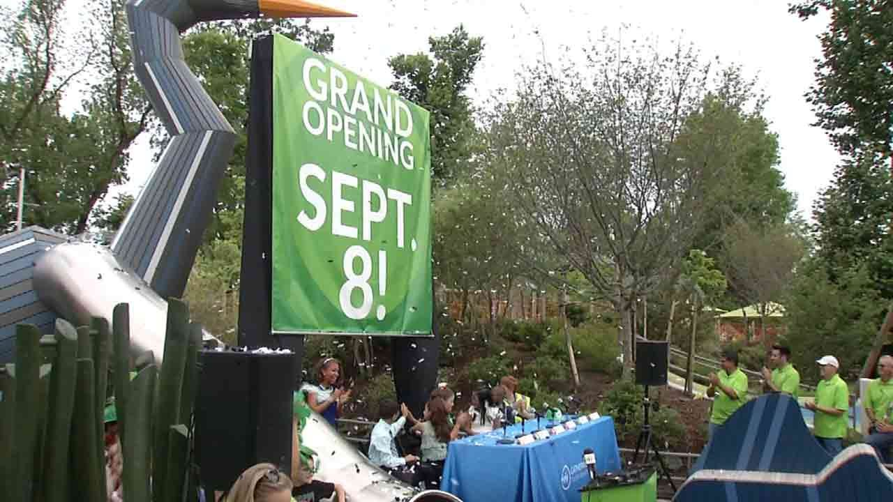 September 8: Tulsa's Gathering Place To Open