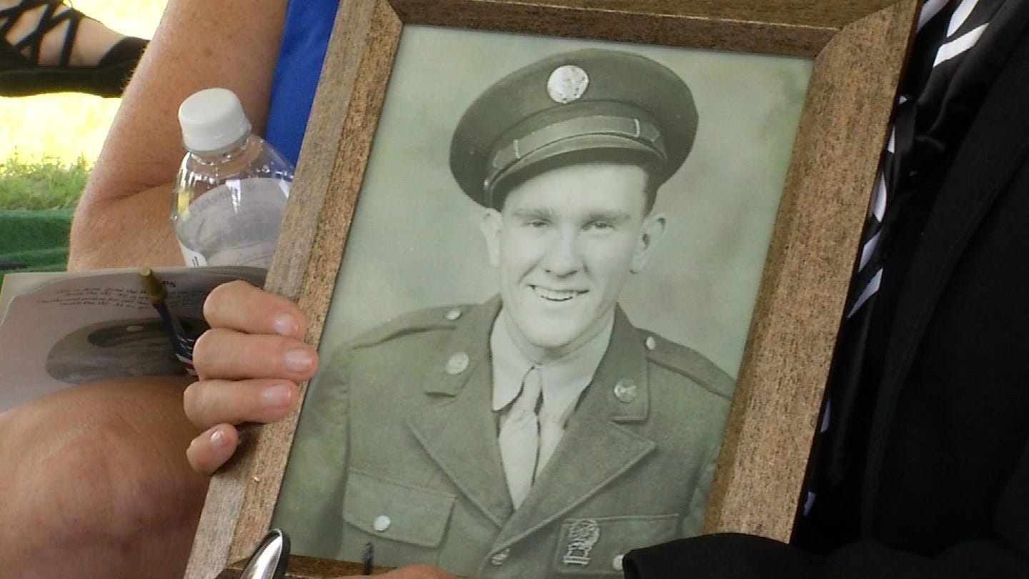 Remains Of Returned WWII Soldier Laid To Rest