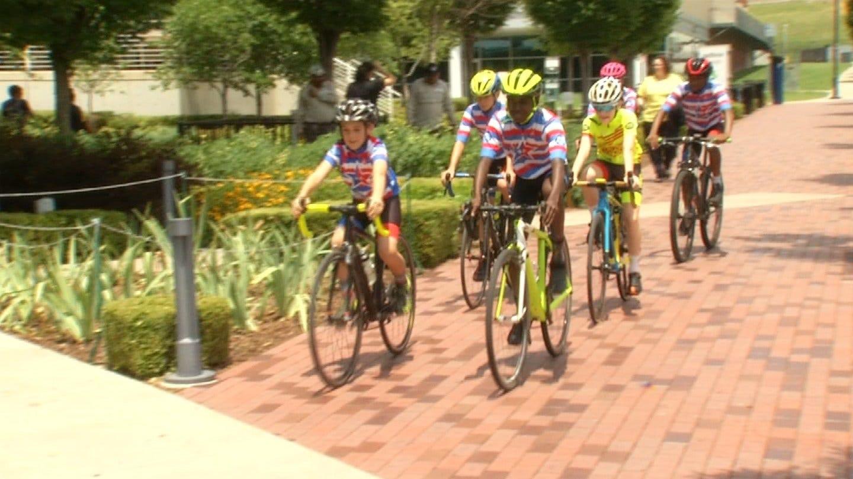 Young Tulsa Bike Riders Compete In Tulsa Tough