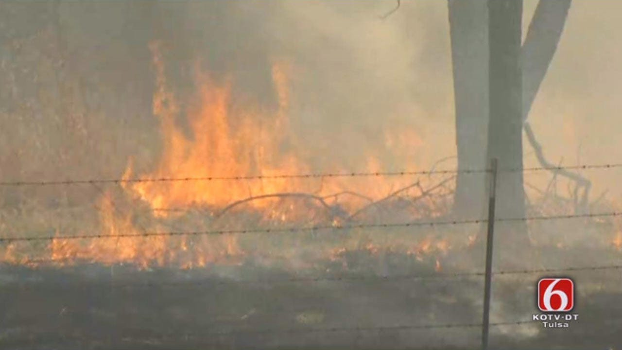 Controlled Burn Gets Out Of Hand In Sand Springs