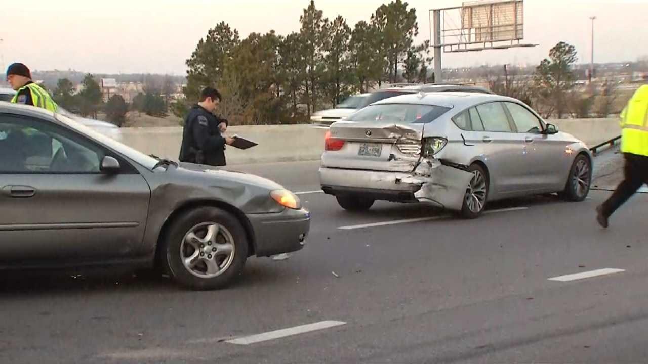 10 Vehicle Crash Slows Westbound Traffic On BA Expressway