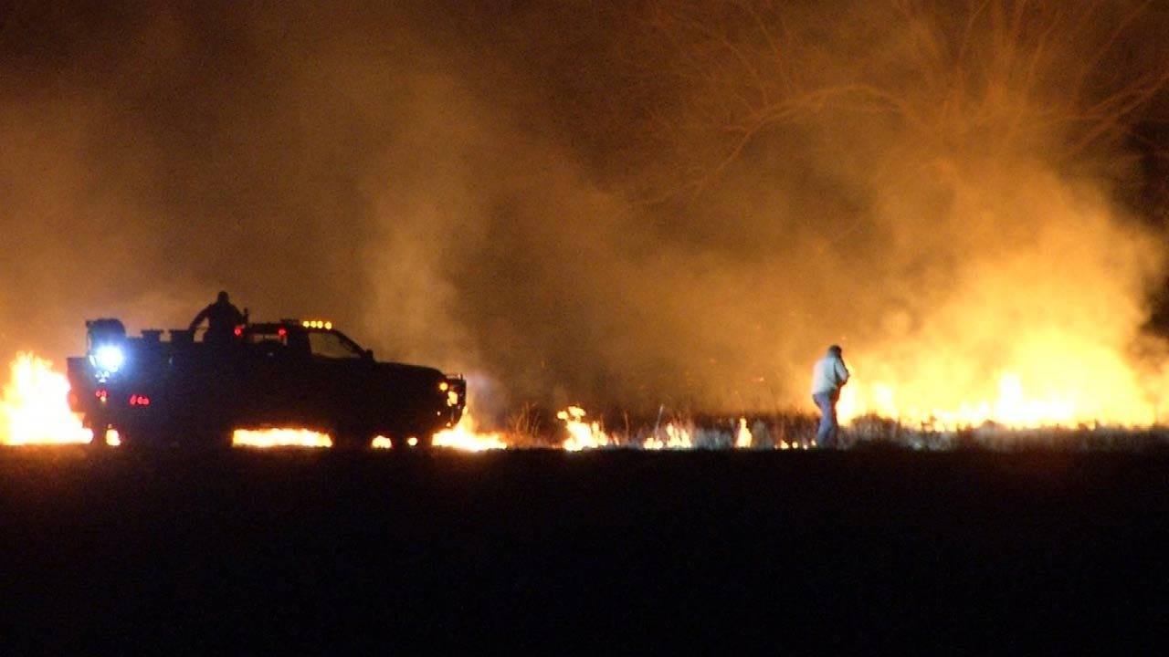 Donations Needed As Firefighters Battle Ochelata Fire