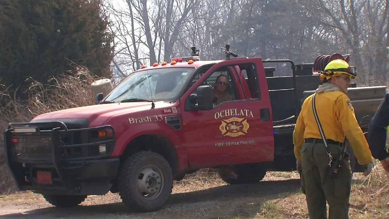 Exhausted Washington County Firefighters Continue To Fight Fires