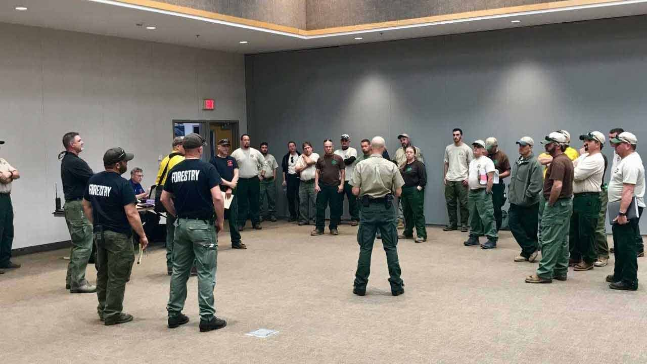 Five States Sending Help As Fires Burn Across State