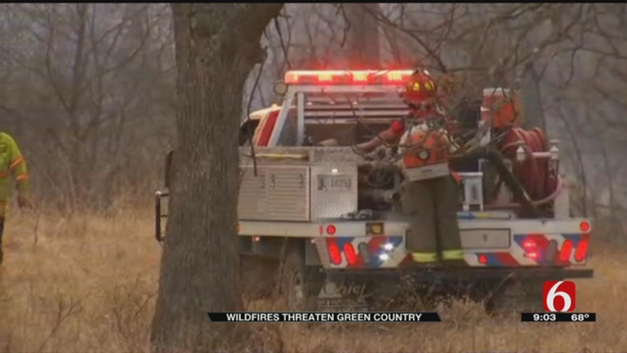 Possible Arson-Related Fires Frustrate Okmulgee County Fire Crews