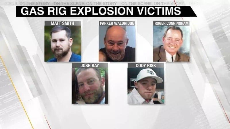 Third Wrongful Death Suit Filed In Pittsburg County Gas Rig Explosion
