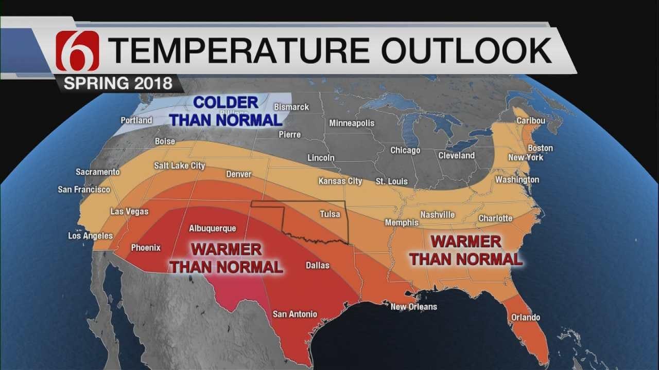 Travis Meyer's 2018 Spring Forecast