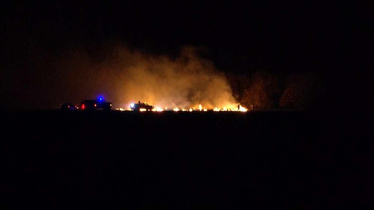 Wildfire Near Ochelata Continues To Burn