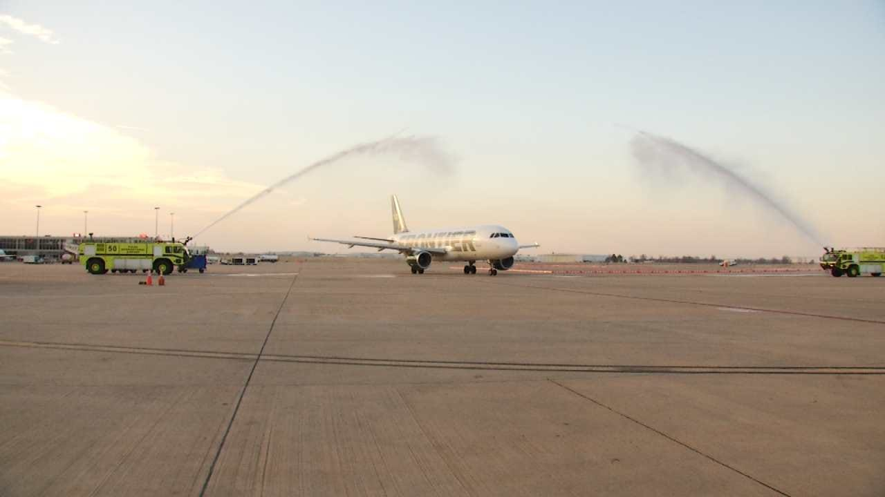 Frontier Airlines Now Offers Flights From Tulsa To Denver